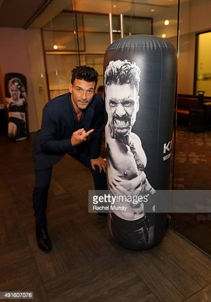 Actor Frank Grillo celebrates the season premiere of DIRECTV's KINGDOM on October 6 2015 in West Hollywood California