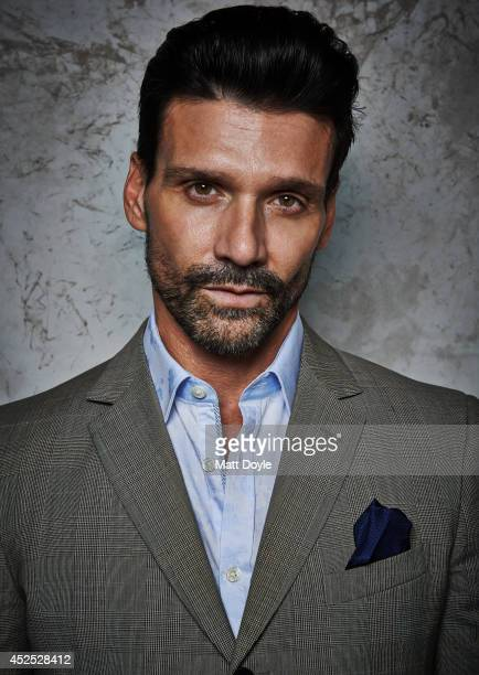 Actor Frank Grillo is photographed for Back Stage on April 11 in New York City PUBLISHED COVER