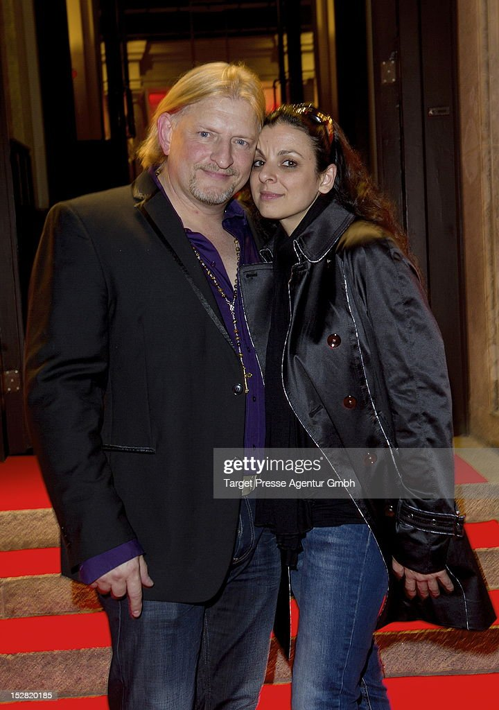 Actor Frank Kessler and his wife Leila Kessler attend the Vodafone Night at Hotel de Rome on September 26, 2012 in Berlin, Germany.