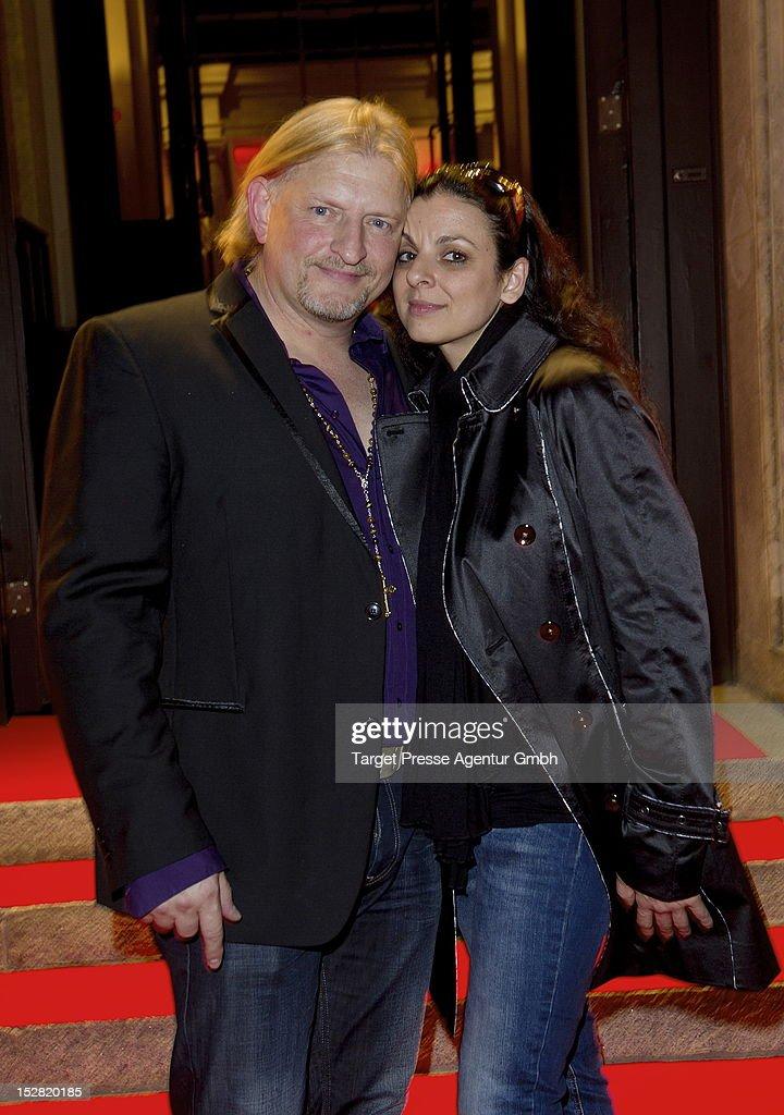 Actor Frank Kessler and his wife Leila Kessler attend the Vodafone Night at Hotel de Rome on September 26, 2012 in Berlin, Germany.