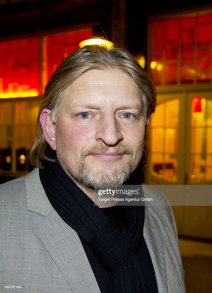 Actor Frank Kessler attends the 6th Askania Award 2013 on February 5, 2013 in Berlin, Germany.