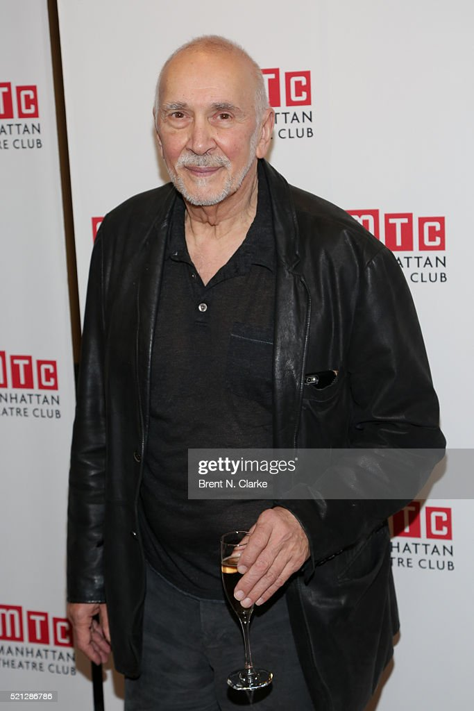 Actor Frank Langella attends the cast party following the opening night performance of 'The Father' held at the Samuel J Friedman Theatre on April 14...
