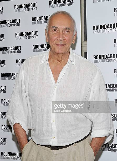 Actor Frank Langella attends the 'Man and Boy' cast photo call at the Roundabout Theatre Company Rehearsal Studios on August 9 2011 in New York City