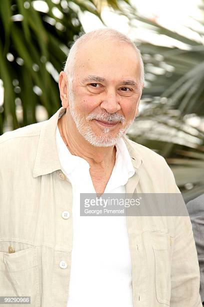 Actor Frank Langella attends the 'Wall Street Money Never Sleeps' Photo Call held at the Palais des Festivals during the 63rd Annual International...