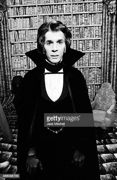 Actor Frank Langella photographed November 3 1977 in costume as 'Dracula' on Broadway