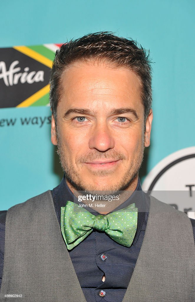 Actor Frank Rautenbach arrives at the South African Tourism presents Isango Ensemble in Mozart's 'The Magic Flute' at The Broad Stage on October 8...
