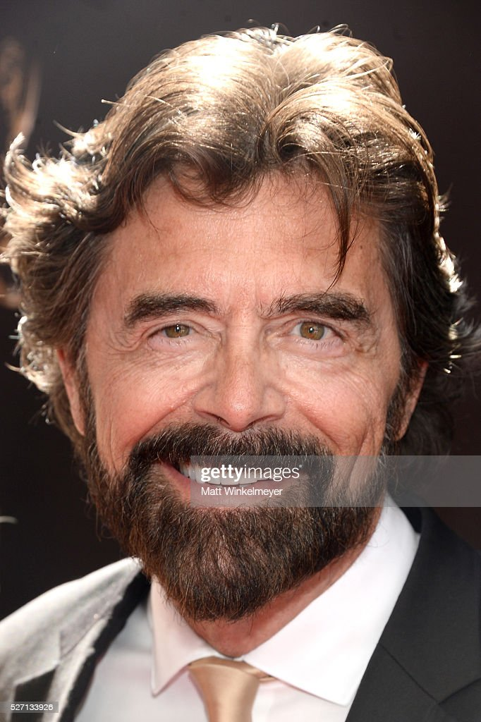 Actor Frank Runyeon walks the red carpet at the 43rd Annual Daytime Emmy Awards at the Westin Bonaventure Hotel on May 1, 2016 in Los Angeles, California.