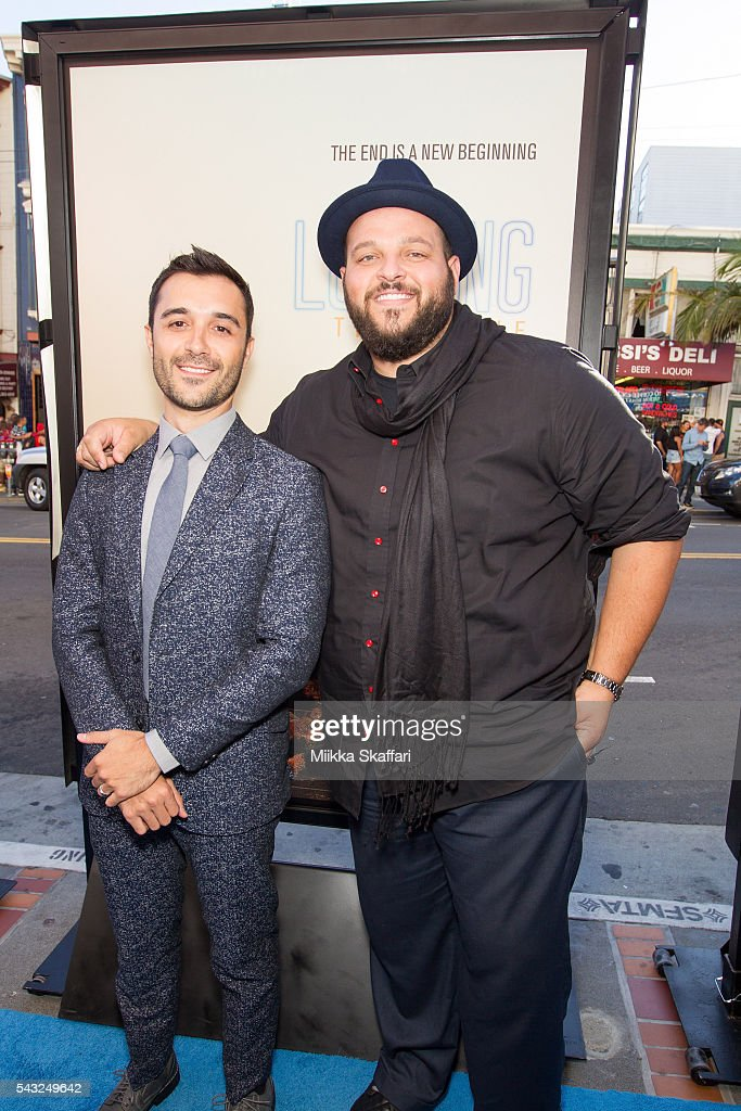 Actor Frankie J. Alvarez and actor <a gi-track='captionPersonalityLinkClicked' href=/galleries/search?phrase=Daniel+Franzese&family=editorial&specificpeople=2206160 ng-click='$event.stopPropagation()'>Daniel Franzese</a> arrive at the premiere of 'Looking' at Frameline40 film festival at Castro Theatre on June 26, 2016 in San Francisco, California.