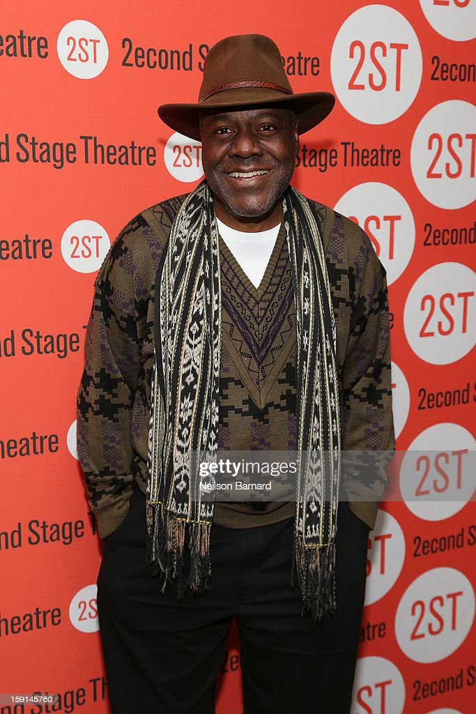 Actor Frankie R. Faison attends the 'Water By The Spoonful' Opening Night Celebration at Dave & Buster's Time Square on January 8, 2013 in New York City.