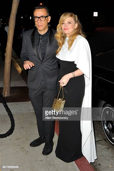 Actor Fred Armisen and actress Natasha Lyonne attend AMC Networks' 68th Primetime Emmy Awards afterparty celebration at BOA Steakhouse on September...