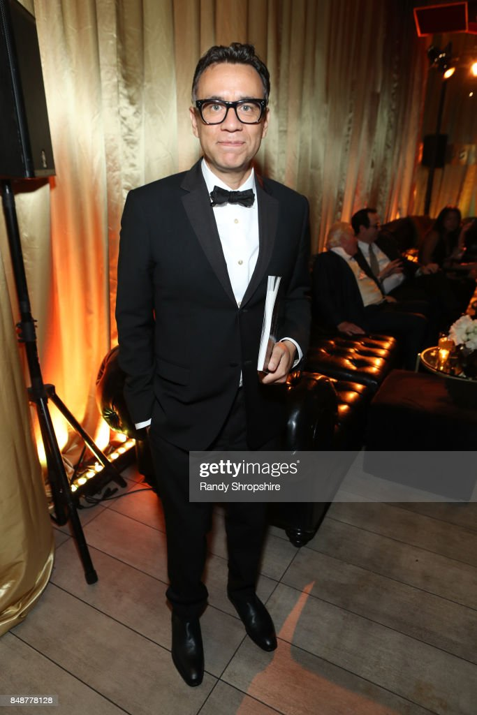 Actor Fred Armisen at AMC, BBCA and IFC Emmy party at BOA Steakhouse on September 17, 2017 in West Hollywood, California.