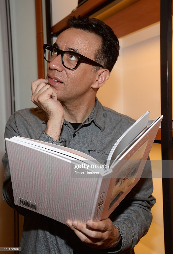 Actor Fred Armisen attends BookMarc Celebrates Chloe Sevigny's New Book 'Chloe Sevigny' By Rizzoli at BookMarc on April 29 2015 in Los Angeles...