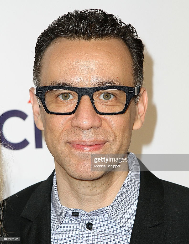Actor <a gi-track='captionPersonalityLinkClicked' href=/galleries/search?phrase=Fred+Armisen&family=editorial&specificpeople=221426 ng-click='$event.stopPropagation()'>Fred Armisen</a> attends the 2013 Webby Awards at Cipriani Wall Street on May 21, 2013 in New York City.