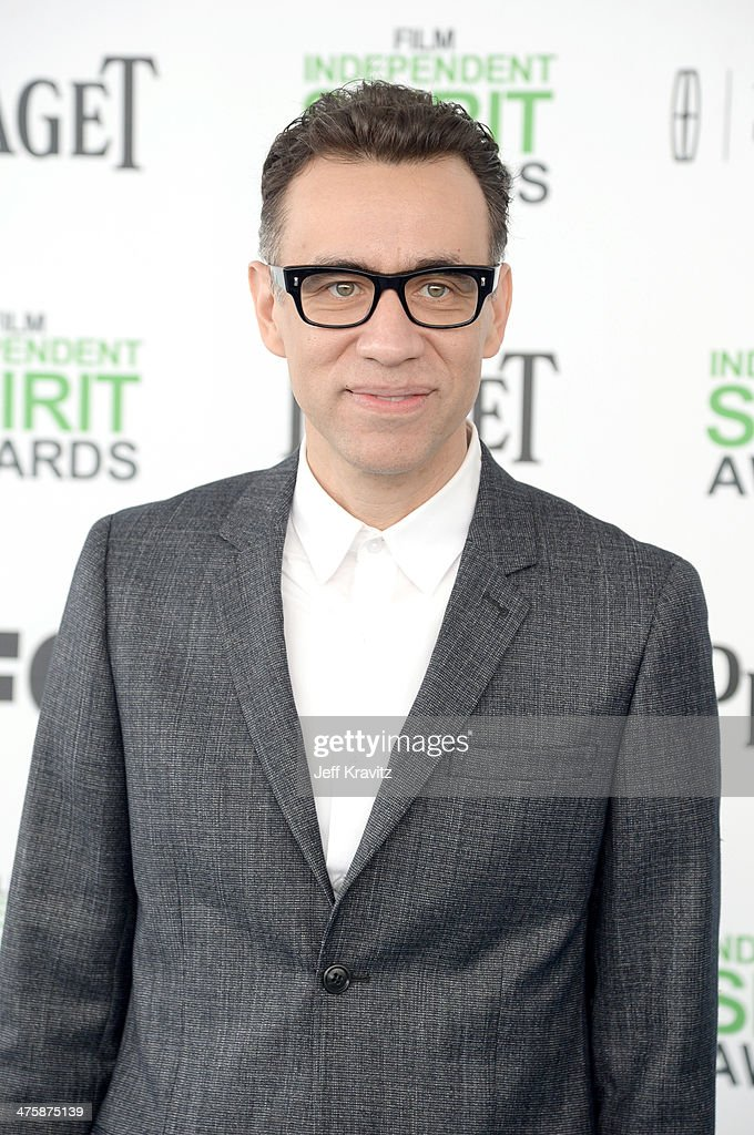 Actor Fred Armisen attends the 2014 Film Independent Spirit Awards on March 1, 2014 in Santa Monica, California.