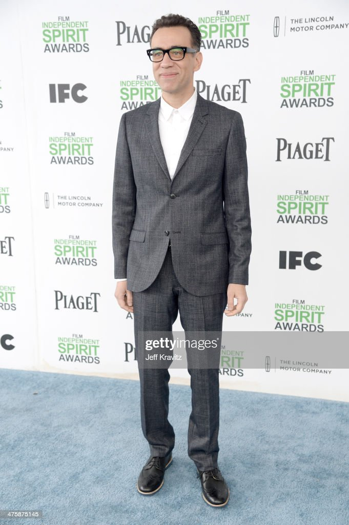 Actor Fred Armisen attends the 2014 Film Independent Spirit Awards on March 1 2014 in Santa Monica California