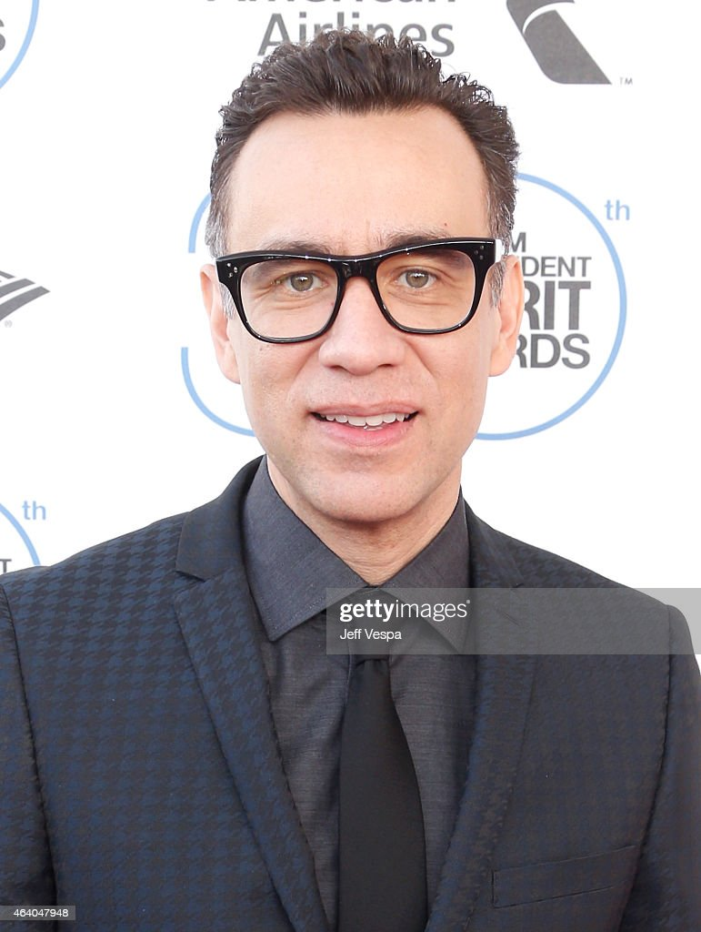 Actor Fred Armisen attends the 2015 Film Independent Spirit Awards at Santa Monica Beach on February 21 2015 in Santa Monica California