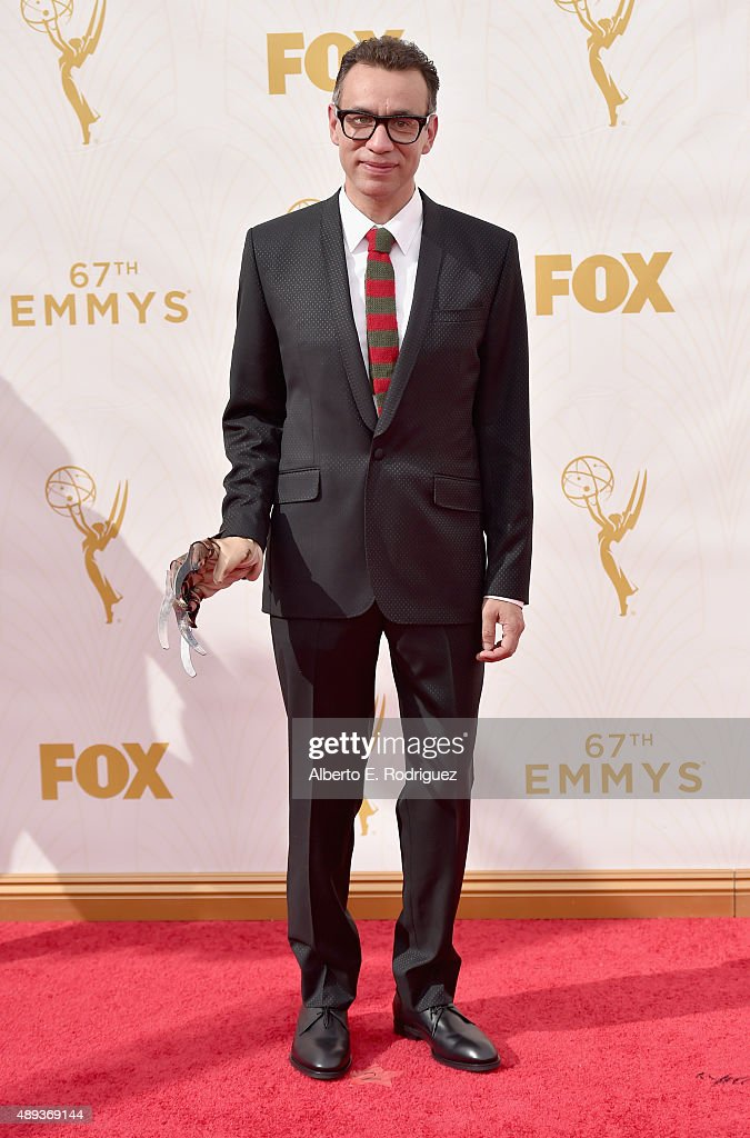 Actor Fred Armisen attends the 67th Emmy Awards at Microsoft Theater on September 20 2015 in Los Angeles California 25720_001