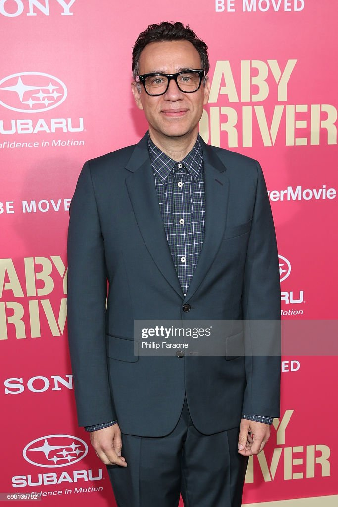 Actor Fred Armisen attends the premiere of Sony Pictures' 'Baby Driver' at Ace Hotel on June 14, 2017 in Los Angeles, California.