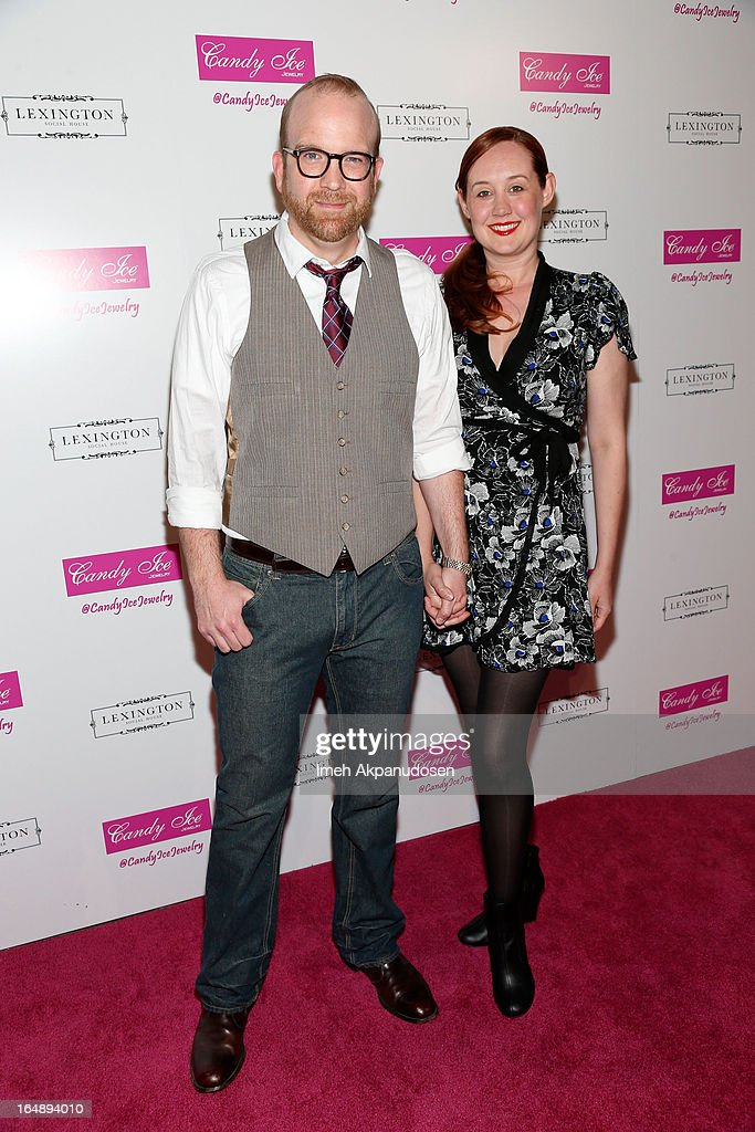 Actor Fred Cross (L) and his wife, actress Annie Savage, attend the Fire & Ice Gala Benefiting Fresh2o at Lexington Social House on March 28, 2013 in Hollywood, California.