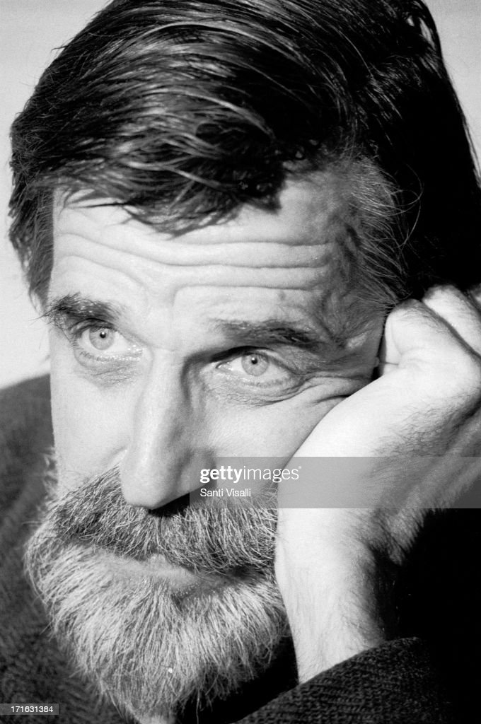 Actor Fred Gwynne during an interview on July 3,1970 in New York, New York.