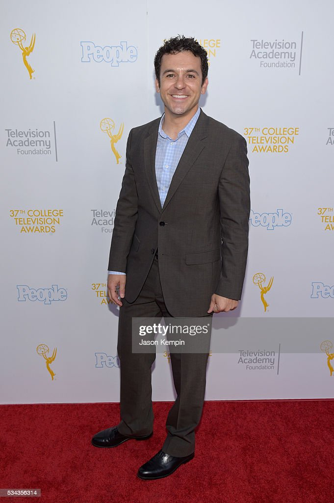 Actor Fred Savage attends the 37th College Television Awards at Skirball Cultural Center on May 25 2016 in Los Angeles California