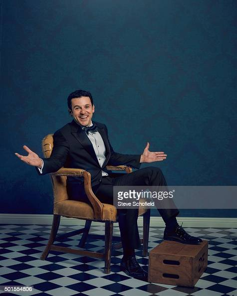 Actor Fred Savage is photographed for Emmy magazine on September 20 2015 in Los Angeles California
