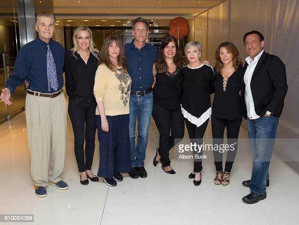 Actor Fred Willard actress Elaine Hendrix actress/comedian Laraine Newman actor Steven Weber creater of Celebrity Autobiography Dayle Reyfel creater...