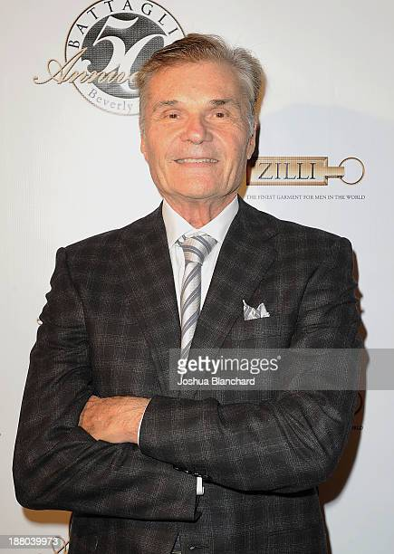 Actor Fred Willard arrives at Battaglia's 50th Anniversary of Quality and Elegance Celebration on November 14 2013 in Beverly Hills California
