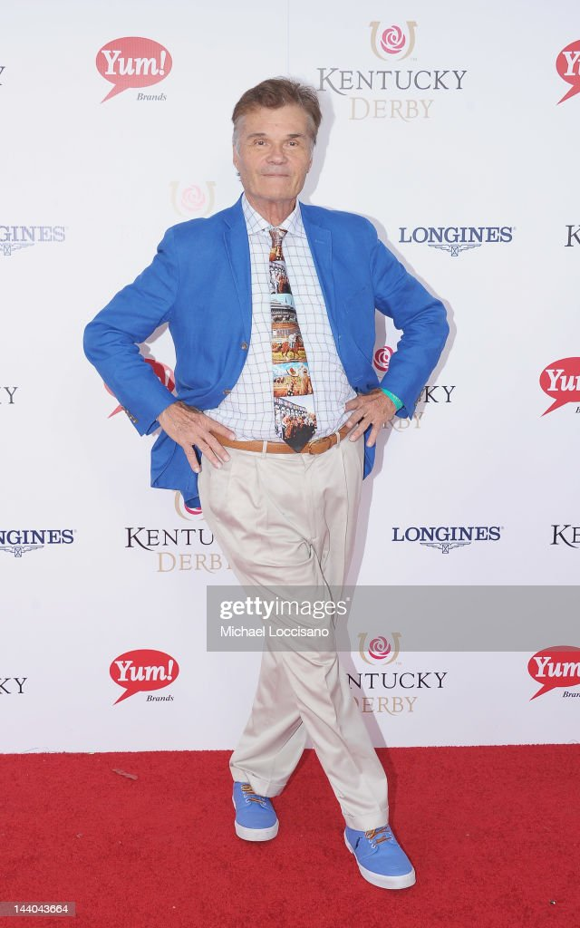 Actor Fred Willard attends the 138th Kentucky Derby at Churchill Downs on May 5 2012 in Louisville Kentucky