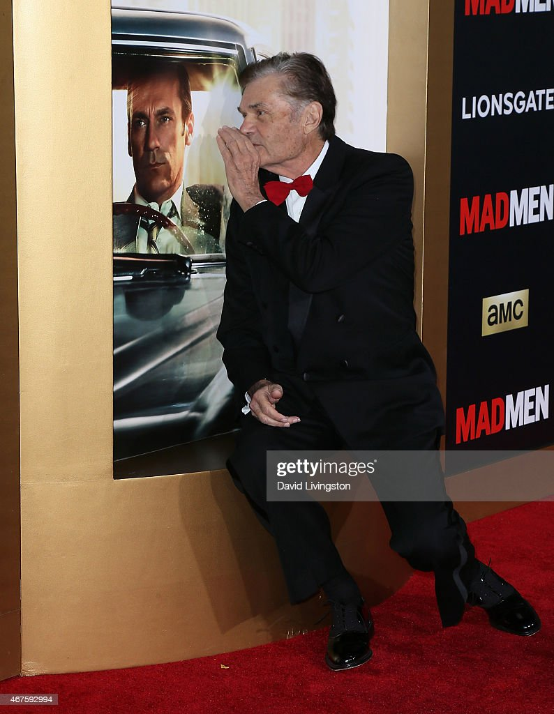 Actor Fred Willard attends the AMC celebration of the final 7 episodes of 'Mad Men' with The Black Red Ball at the Dorothy Chandler Pavilion on March...