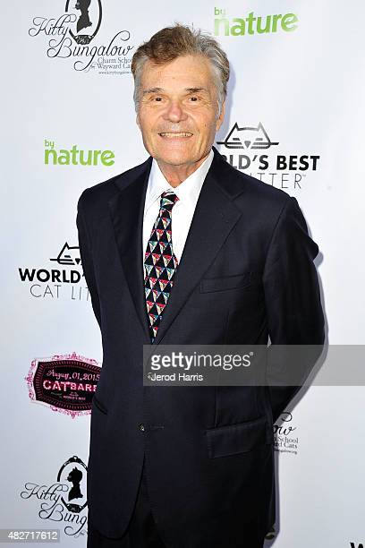 Actor Fred Willard attends the Kitty Bungalow Charm School for Wayward Cats presents CATbaret on August 1 2015 in Hollywood California