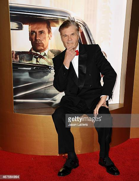 Actor Fred Willard attends the 'Mad Men' Black Red Ball at Dorothy Chandler Pavilion on March 25 2015 in Los Angeles California