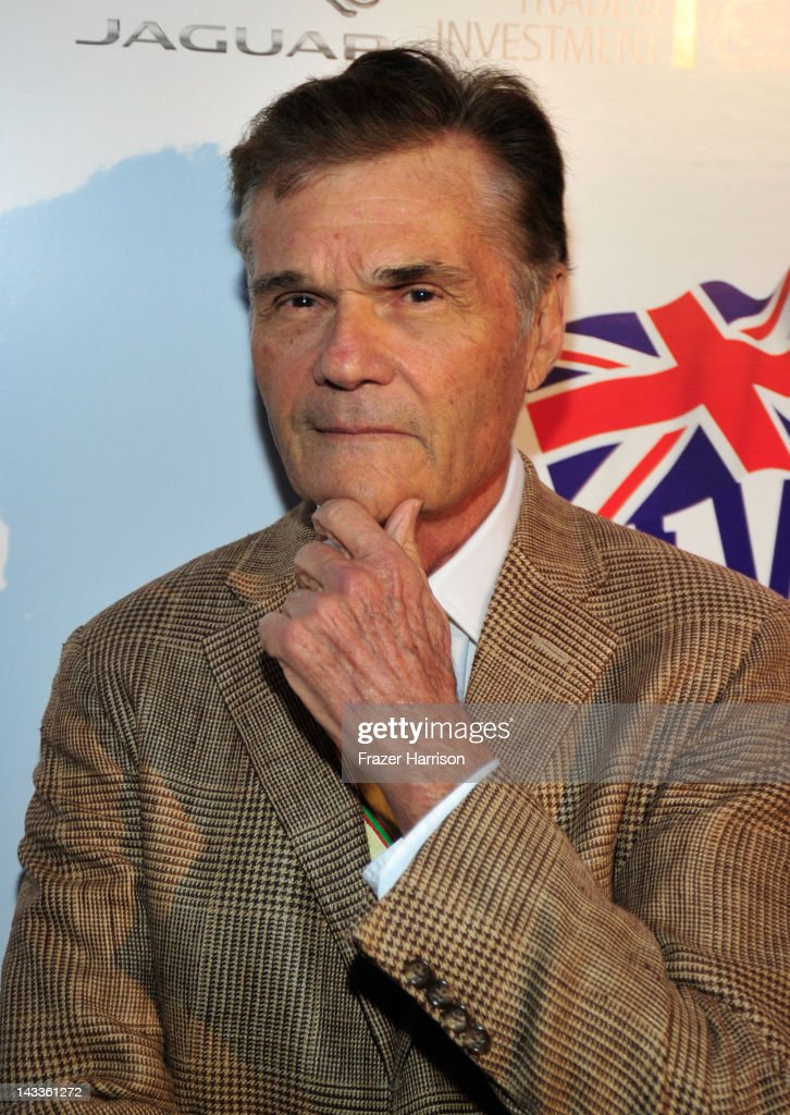 Actor Fred Willard attends the official launch party of BritWeek at a private residence in Hancock Park 2012 on April 24 2012 in Los Angeles...