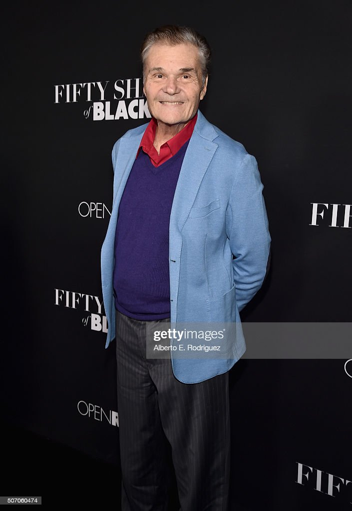 Actor Fred Willard attends the premiere of Open Road Films' 'Fifty Shades of Black' at Regal Cinemas LA Live on January 26 2016 in Los Angeles...