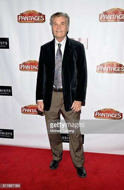 Actor Fred Willard attends the premiere of 'The Illusionists Live From Broadway' at the Pantages Theatre on February 23 2016 in Hollywood California