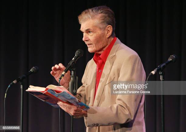 Actor Fred Willard speaks onstage at Celebrity Autobiography The 2017 Music Edition at The GRAMMY Museum on March 20 2017 in Los Angeles California