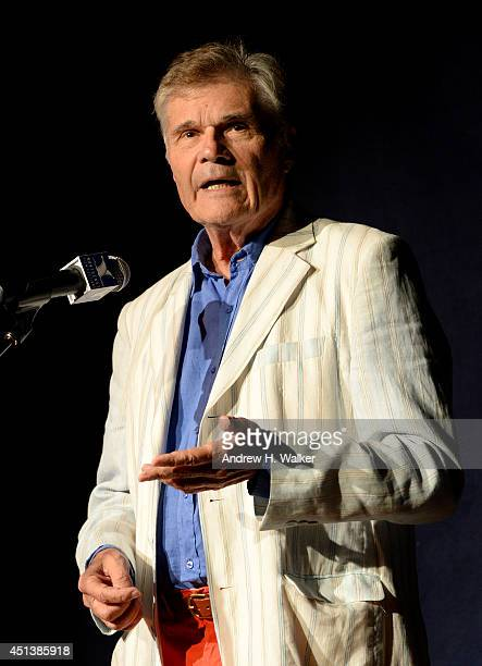 Actor Fred Willard speaks onstage at The 19th Annual Nantucket Film Festival on June 27 2014 in Nantucket Massachusetts