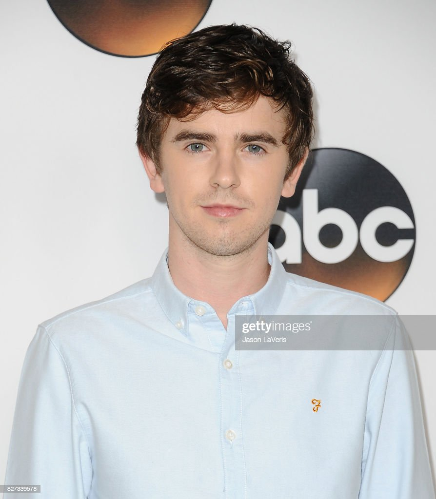 Actor Freddie Highmore attends the Disney ABC Television Group TCA summer press tour at The Beverly Hilton Hotel on August 6, 2017 in Beverly Hills, California.
