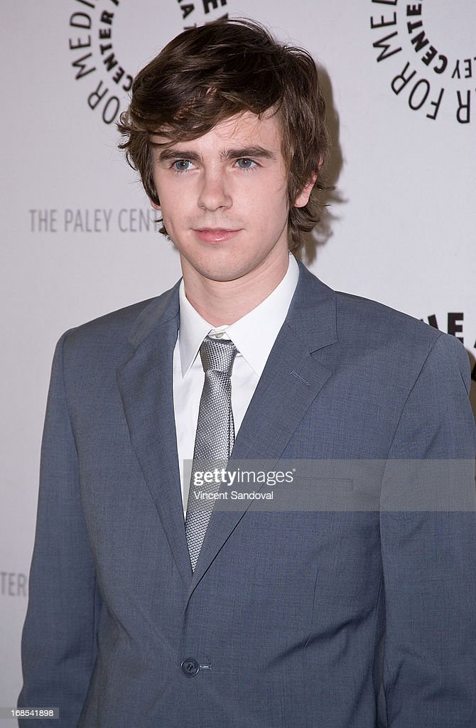 Actor Freddie Highmore attends The Paley Center For Media presents 'Bates Motel: Reimagining a Cinema Icon' at The Paley Center for Media on May 10, 2013 in Beverly Hills, California.
