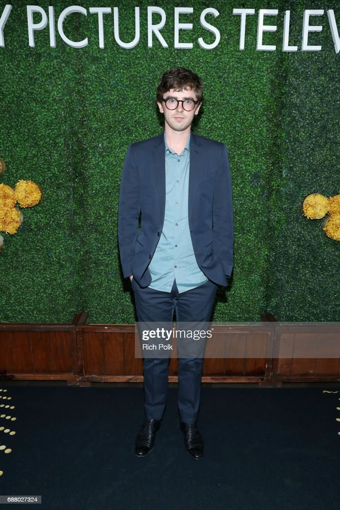 Actor Freddie Highmore attends the Sony Pictures Television LA Screenings Party at Catch LA on May 24, 2017 in Los Angeles, California.