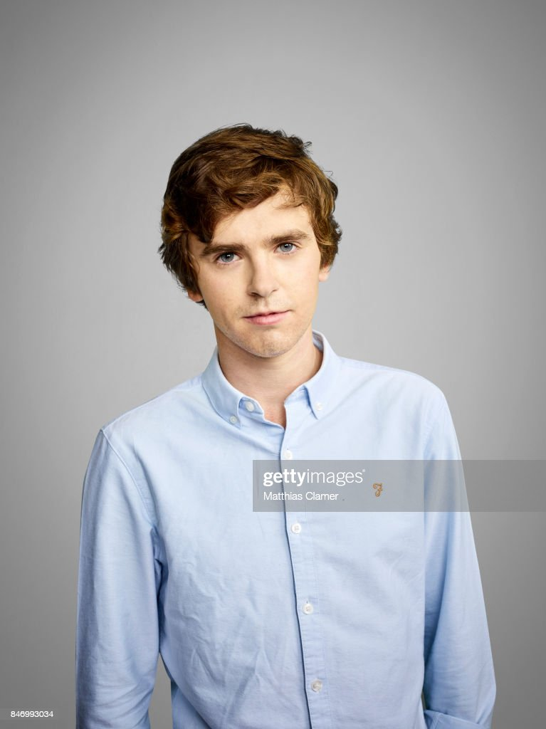 Actor Freddie Highmore from 'Bates Motel' is photographed for Entertainment Weekly Magazine on July 22, 2016 at Comic Con in the Hard Rock Hotel in San Diego, California.