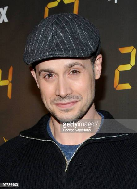 Actor Freddie Prinze Jr attends the '24' Season 8 premiere at Jack H Skirball Center for the Performing Arts on January 14 2010 in New York City