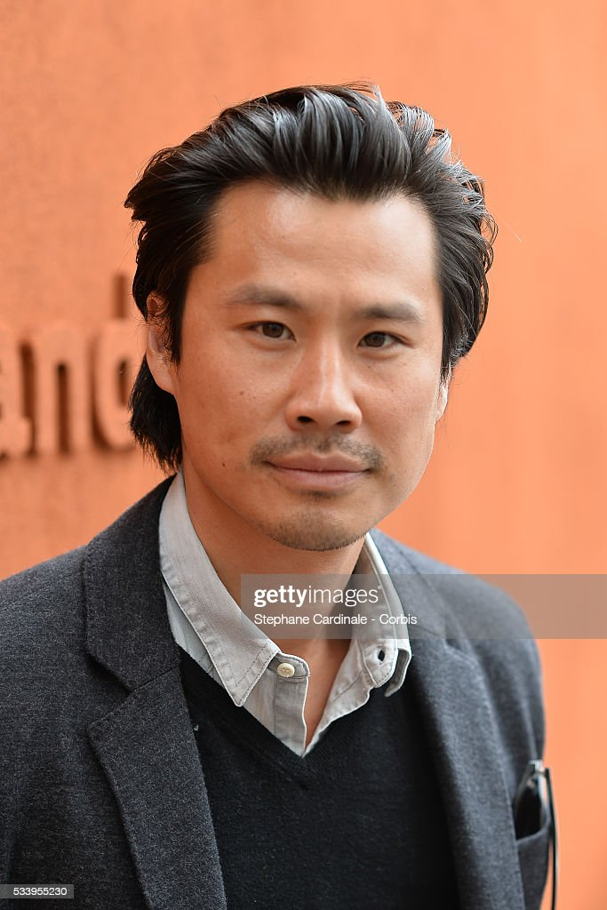 Actor Frederic Chau attends the 2016 French tennis Open day 3, at Roland Garros on May 24, 2016 in Paris, France.