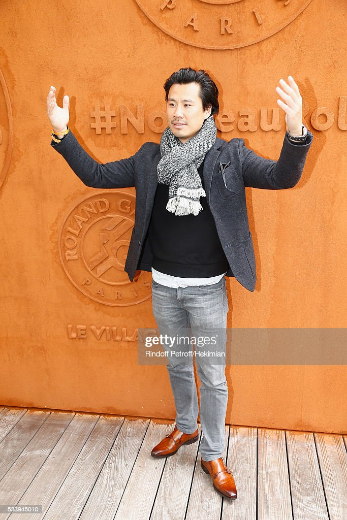 Actor Frederic Chau attends the 2016 French Tennis Open - Day Three at Roland Garros on May 24, 2016 in Paris, France.