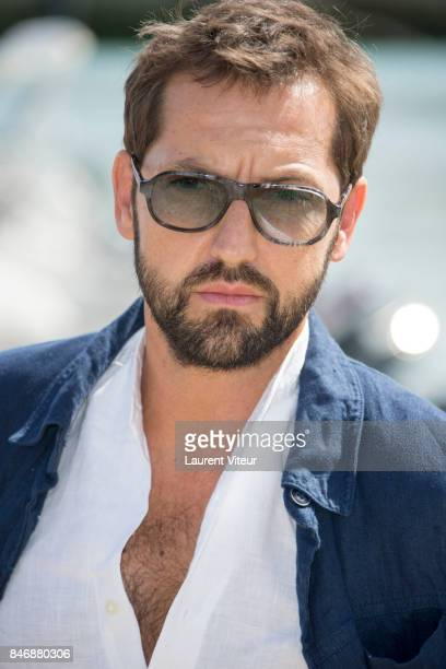 Actor Frederic Difenthal attends 'La Foret' Photocall during 19th Festival Of TV Fiction on September 14 2017 in La Rochelle France