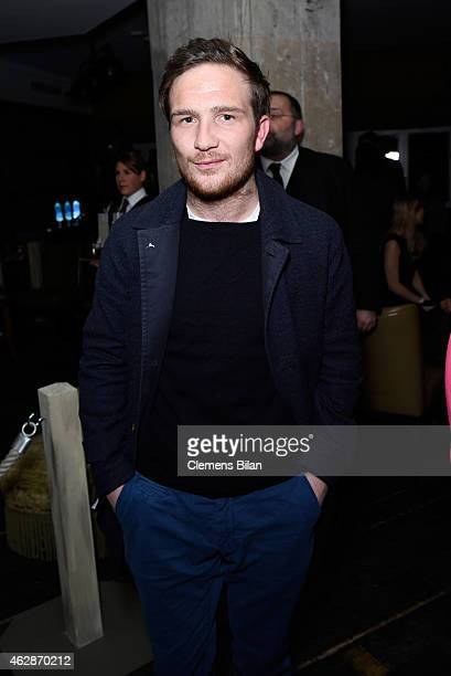 Actor Frederick Lau attends Studio Babelsberg Soho House Berlinale Party with GREY GOOSE at the 'QUEEN OF THE DESERT' Studio Babelsberg Berlinale...