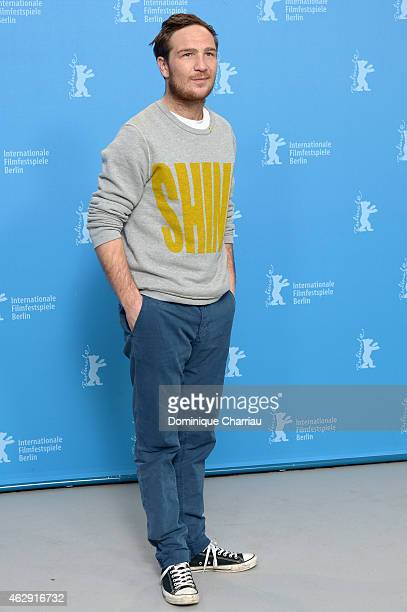 Actor Frederick Lau attends the 'Victoria' photocall during the 65th Berlinale International Film Festival at Grand Hyatt Hotel on February 7 2015 in...