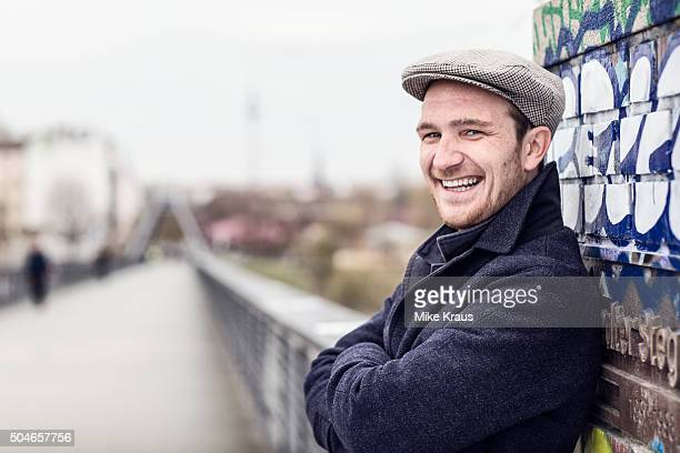 Actor Frederick Lau is photographed for Self Assignment on April 15 2015 in Berlin Germany