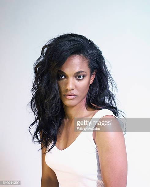 Actor Freema Agyeman is photographed on August 28 2015 in London England