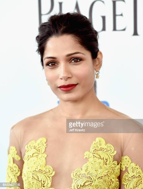 Actor Freida Pinto attends the 2017 Film Independent Spirit Awards at the Santa Monica Pier on February 25 2017 in Santa Monica California